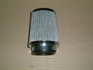Air filrer Cone shaped VW Beetle, Type 2 Chrome